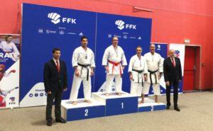 Sebastien Arlot champion de france 2018 karaté shotokan AS KARATE DO