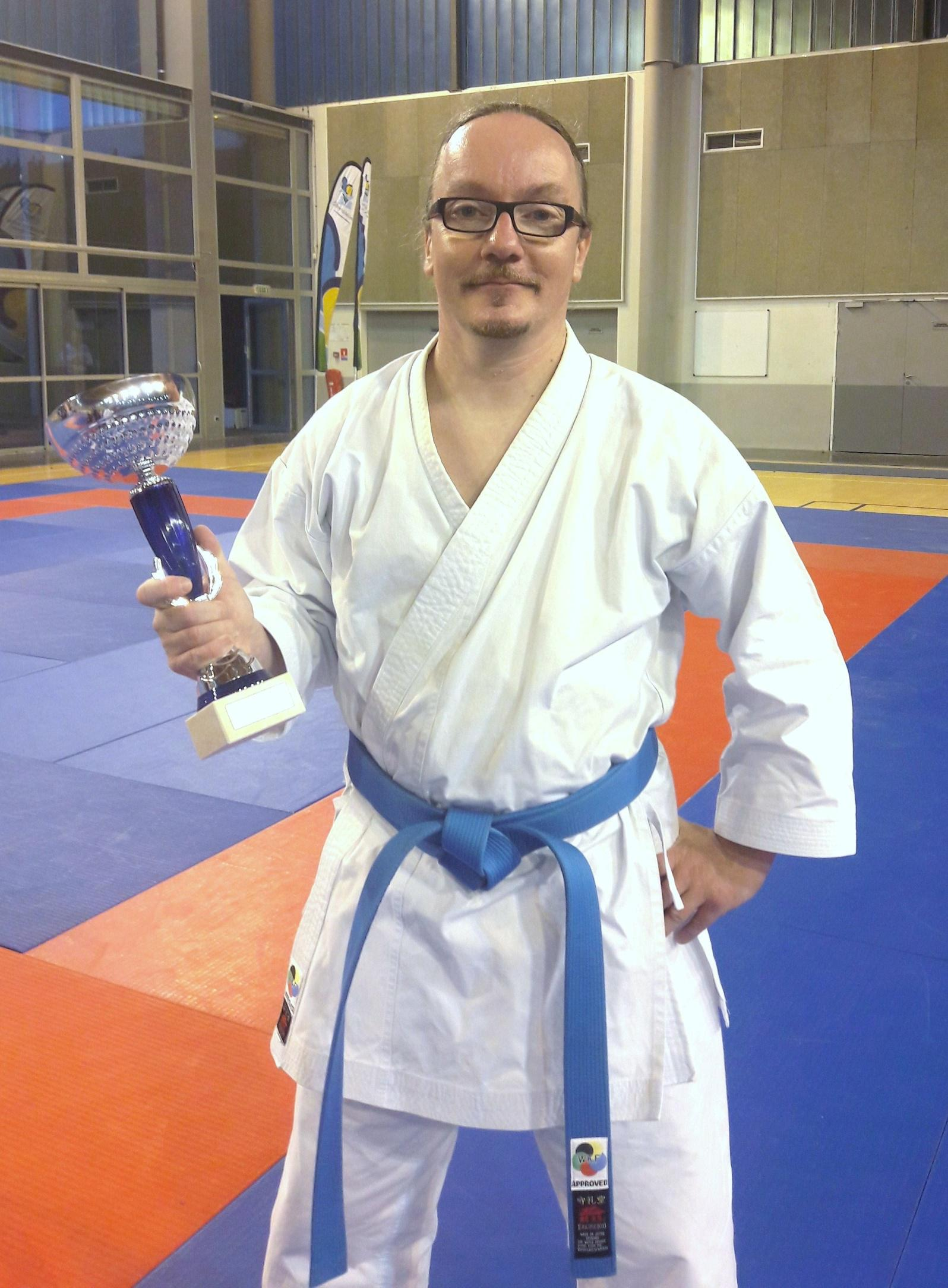 Sebastien Arlot champion de France Karaté Shotokan 2018 professeur AS KARATE DO
